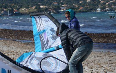 Kite Season opening in Hyeres/France