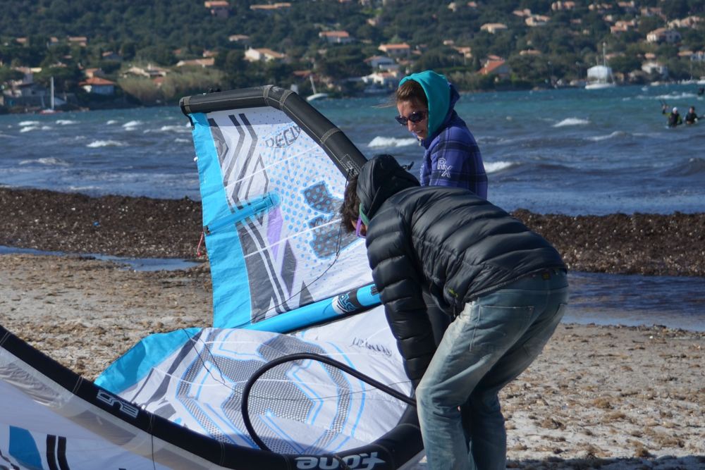 Kite Season opening in Hyeres/France