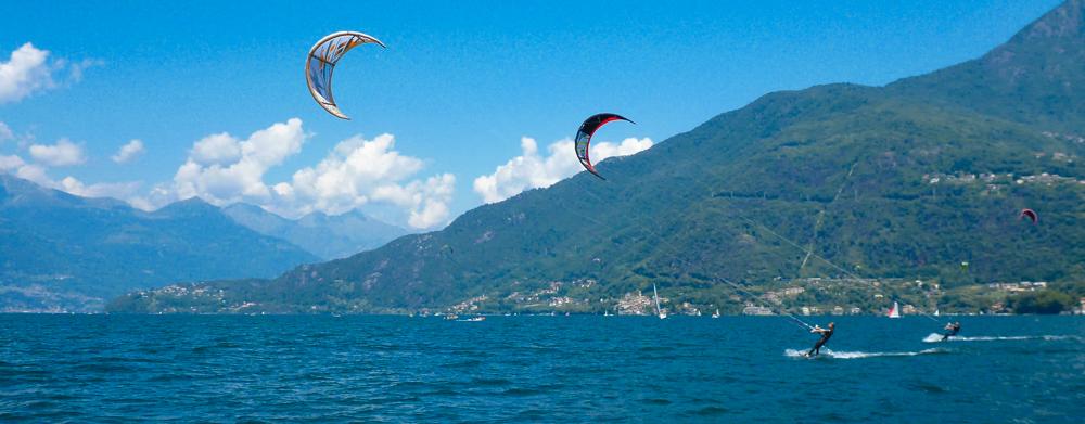 Kitesurfing weekend in Italy
