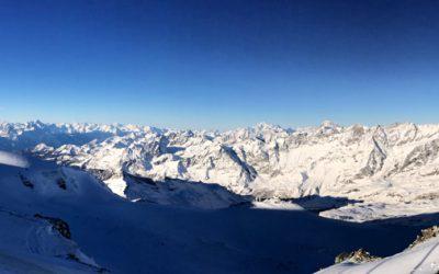 Skiiing Zermatt