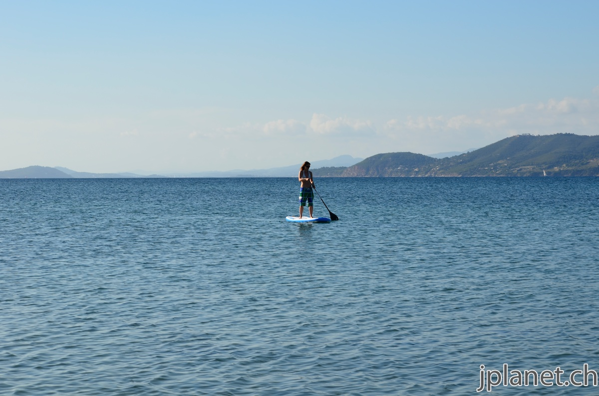 Kitesurfing in Hyères, France
