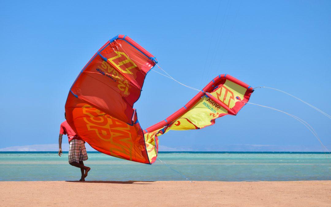 Egypt Kitesurfing in El Gouna