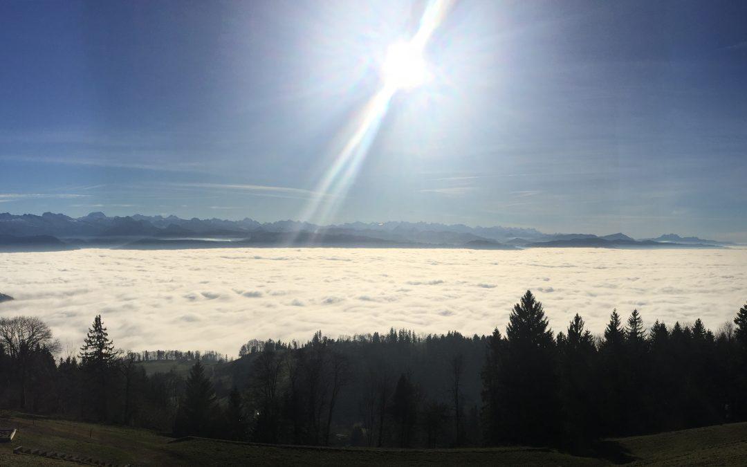 December Biking in Switzerland