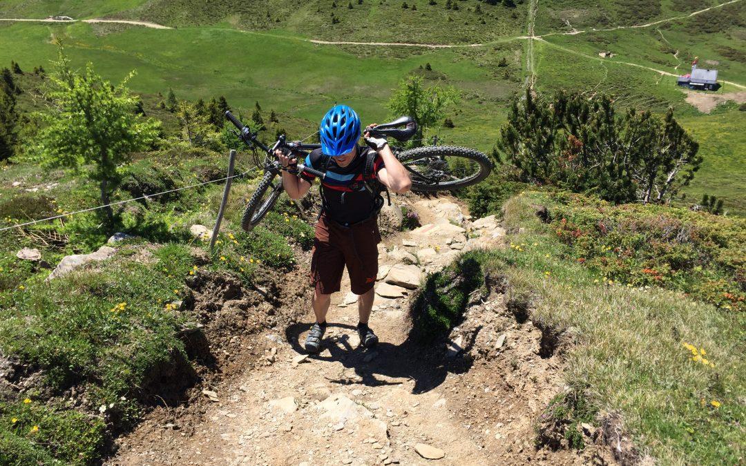 Swiss Alp Bike Ride Dreibündenstein