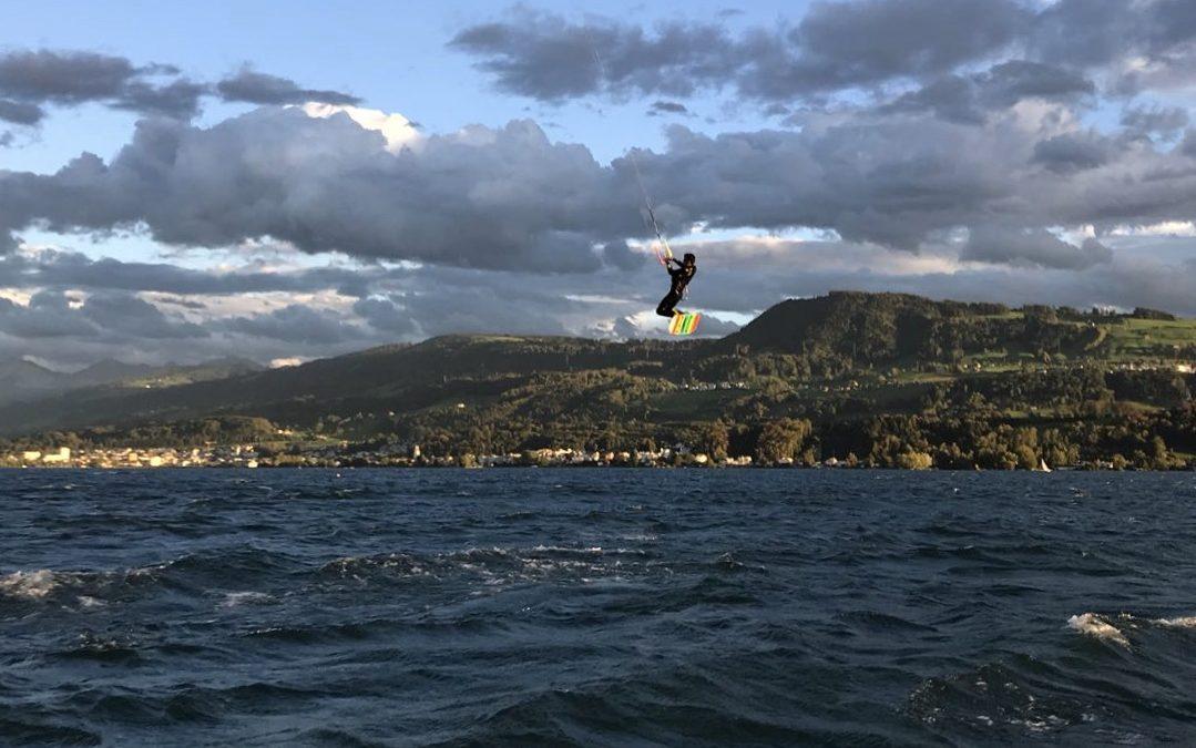 Lake Zürich Kitesurfing