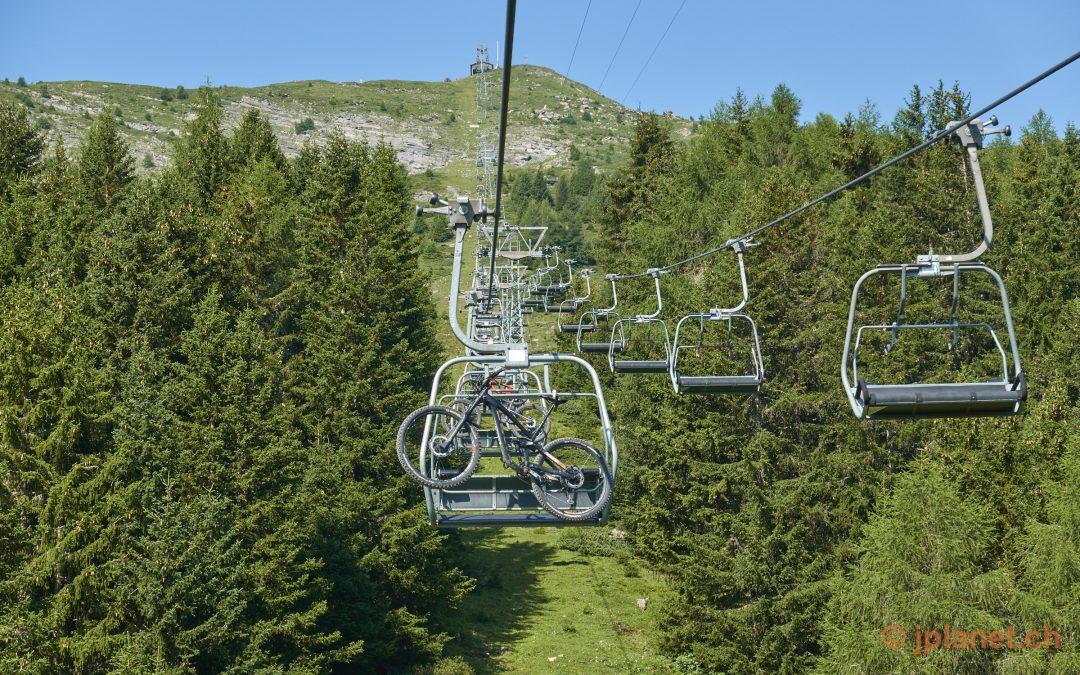 Single Trails in Lenzerheide